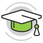 Graduation Cap Icon for Continuing Education for Holistic Nutritionists